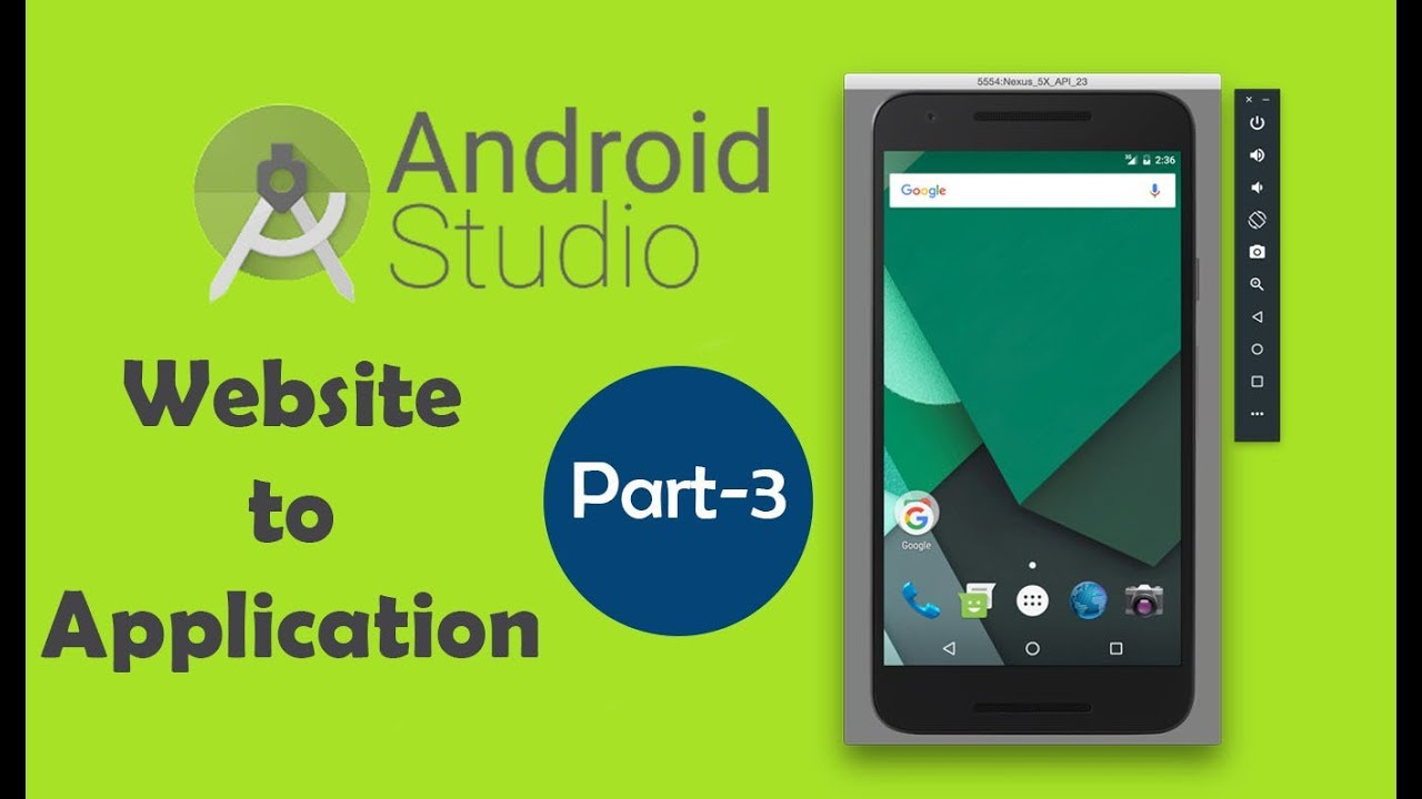 How to Convert Website/Blog into Android Application   Part 3