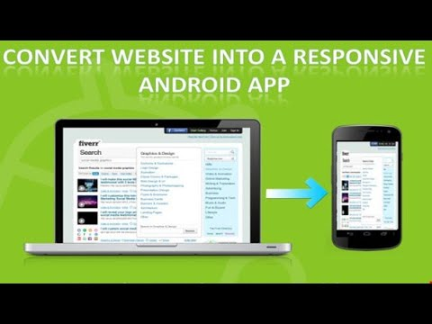 How to convert website  to Android / iOS app?