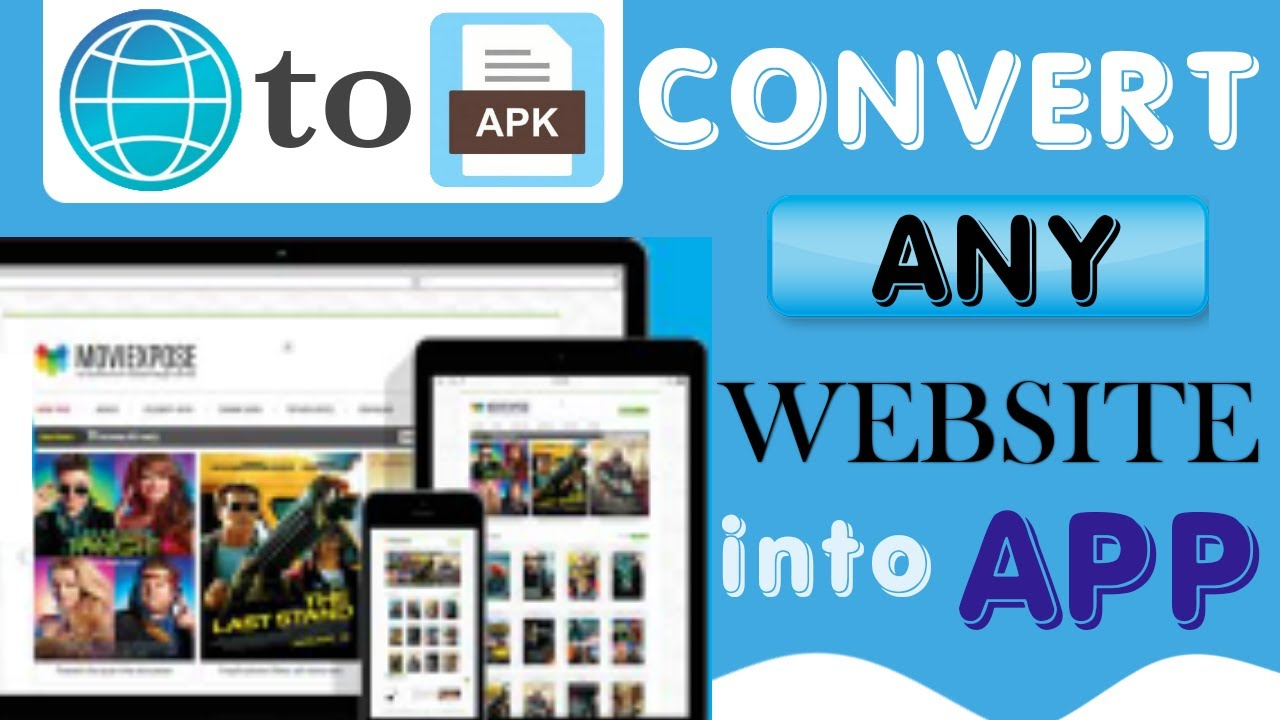 How to convert website to app | create mobile app without coding | web to apk converter| Blog To App
