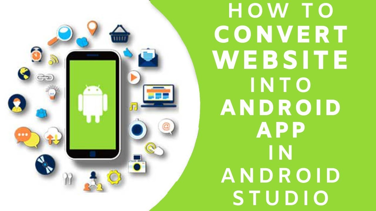 How To Convert Website Into Android App Using Android Studio In Hindi/Urdu