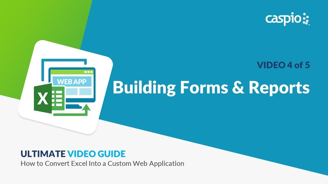 How to Convert Excel into a Custom Web Application / Part 4 of 5