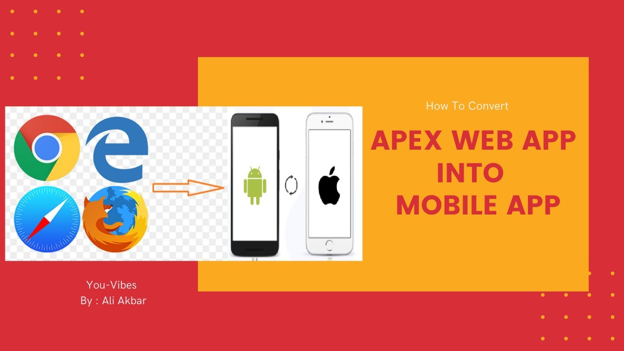 How to convert apex web app into mobile app | Oracle Apex Tutorial Lecture 27