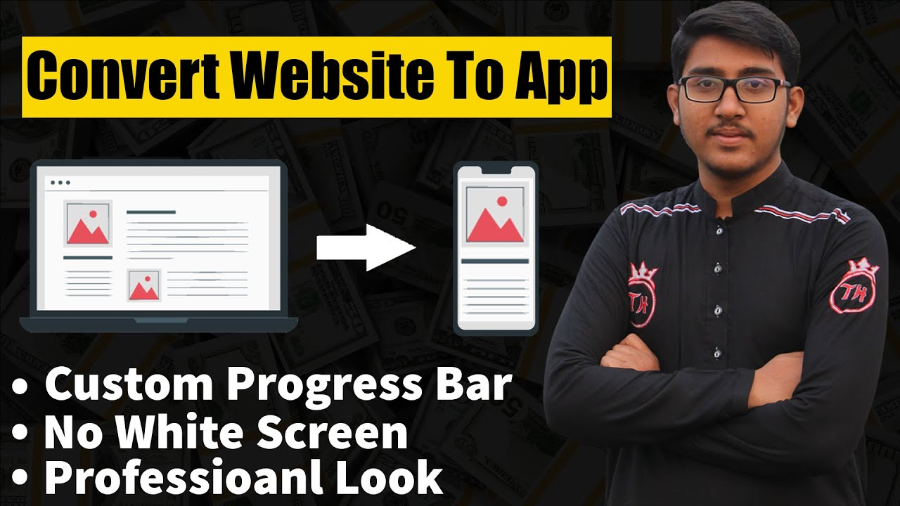 Website Convert To Android App – How To Convert Website into Android App without Using AndroidStudio