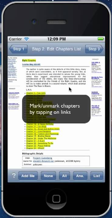 Web2Book V1.2 Quick Start – Convert web pages to an ePub book