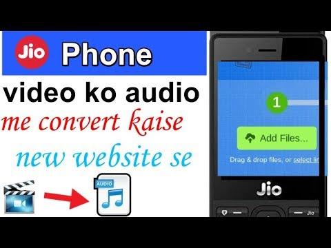 Jio phone me video ko mp3 me convert kaise kare || by rohit checham