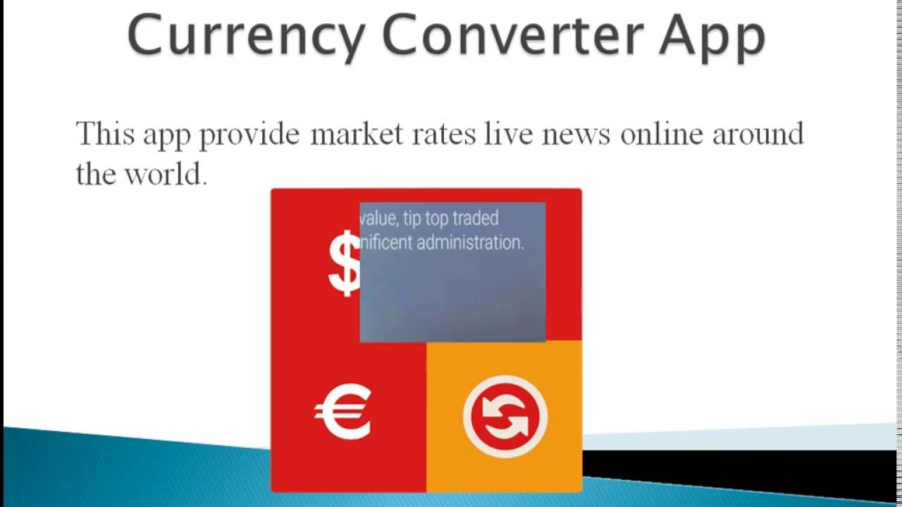 Currency Converter Android Application Real time Free | Zingbytes