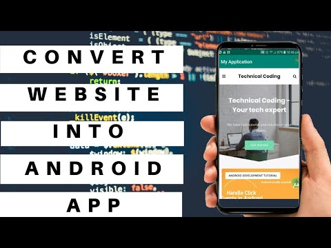 How to convert website into android app || Android studio tutorial – Part 1