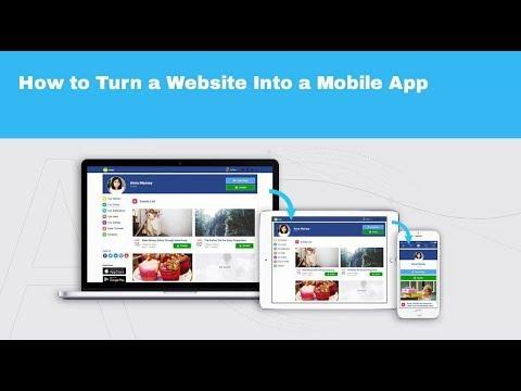 Turn Website Into Mobile App in Minutes – Progressive Apps Builder