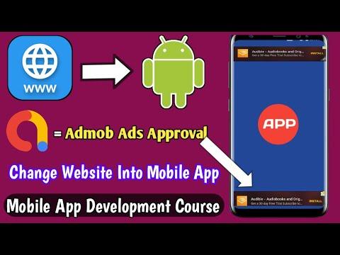 Apna Website Ka App Mobile Se Kaise Banaye || How To Convert Website To Apk – Hindi