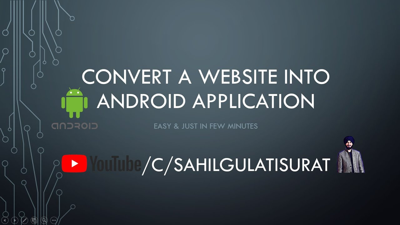 How to Convert a Website into Android Application using Android Studio in Few Minutes