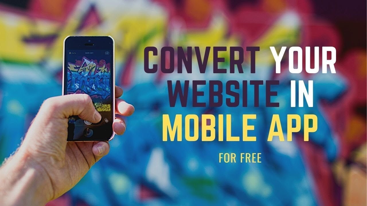 How to Convert your website in to Mobile App for FREE in Hindi
