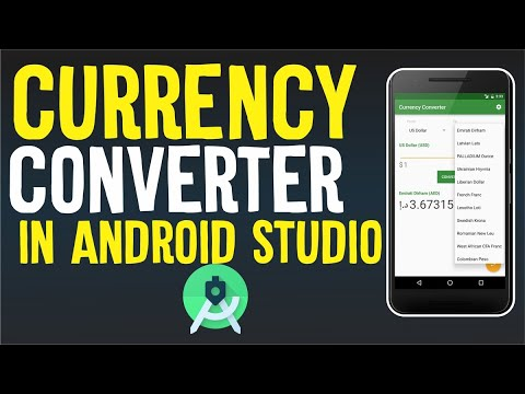 best currency converter app android studio | part 1