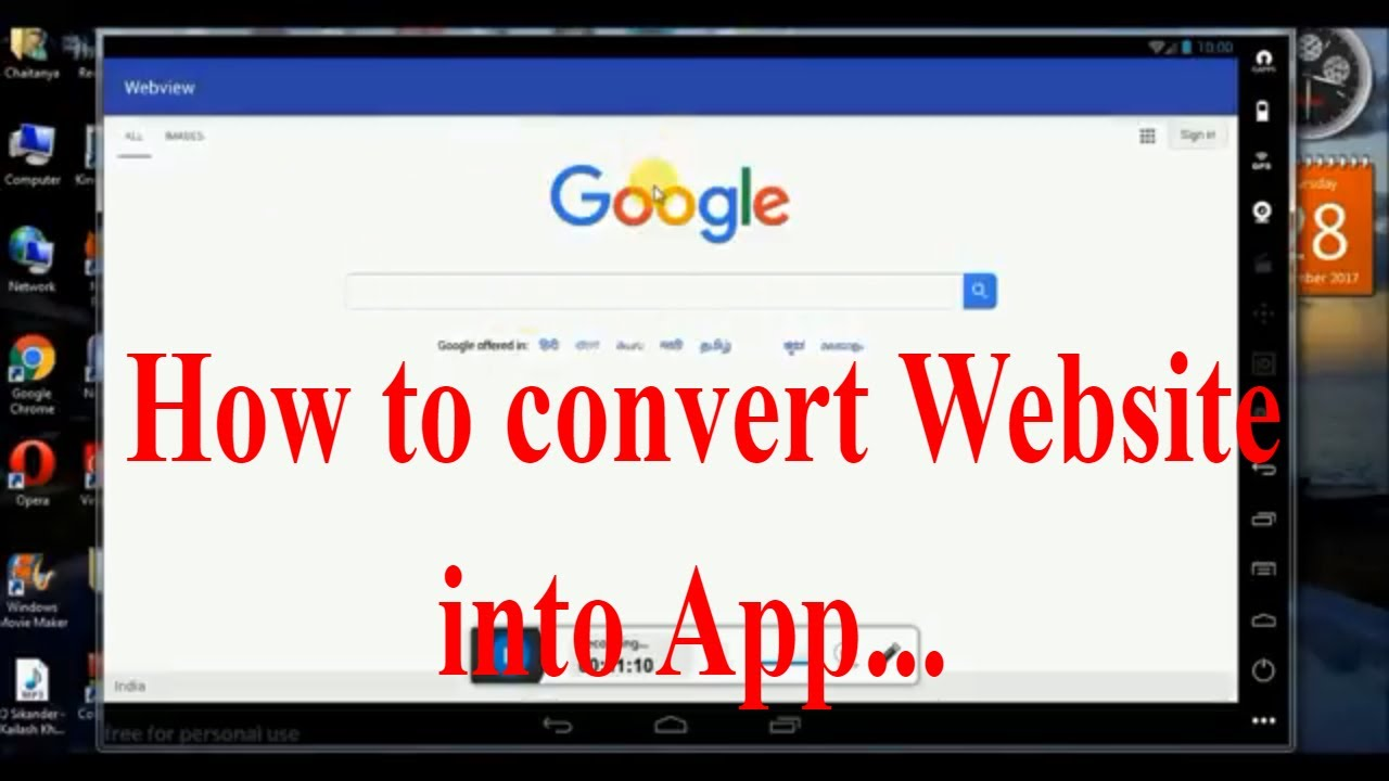 How to convert website into Android app using Android Studio in just 5 steps
