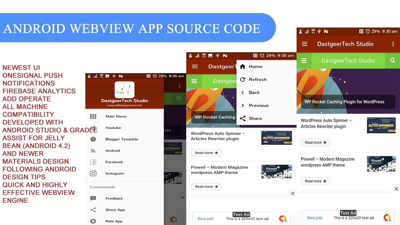 How to Convert Website into Android App | Creating Project and Setup WebView