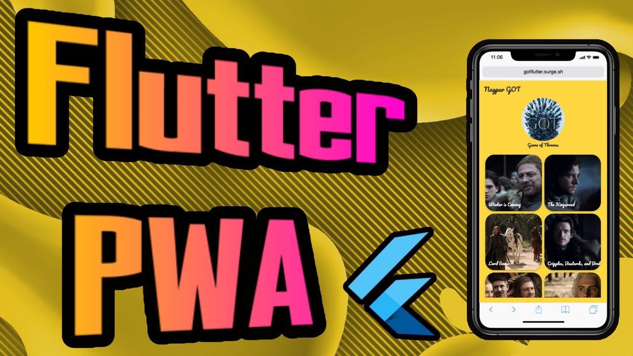 Flutter PWA Tutorial – 1/2