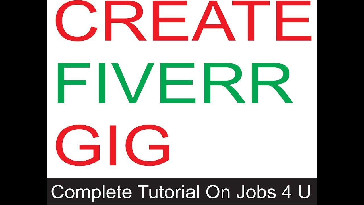 How To Create a gig on fiverr || create a unique gig 2020 Full Tutorial Urdu Hindi