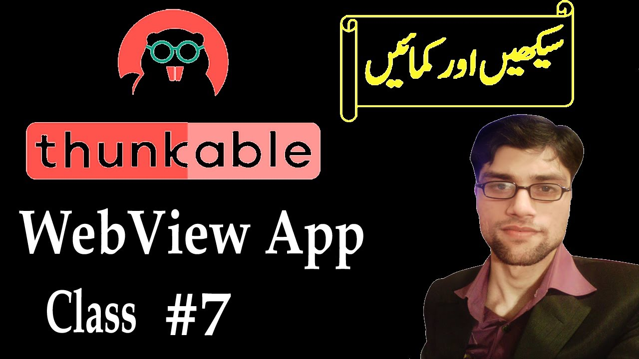 How to Convert Website into Android App Using Thunkable | Thunkable Tutorial in Hindi Urdu