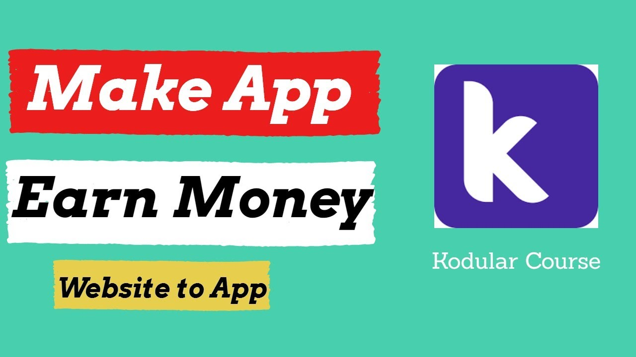 How to Convert Any Website to Android App | Earn Money🔥