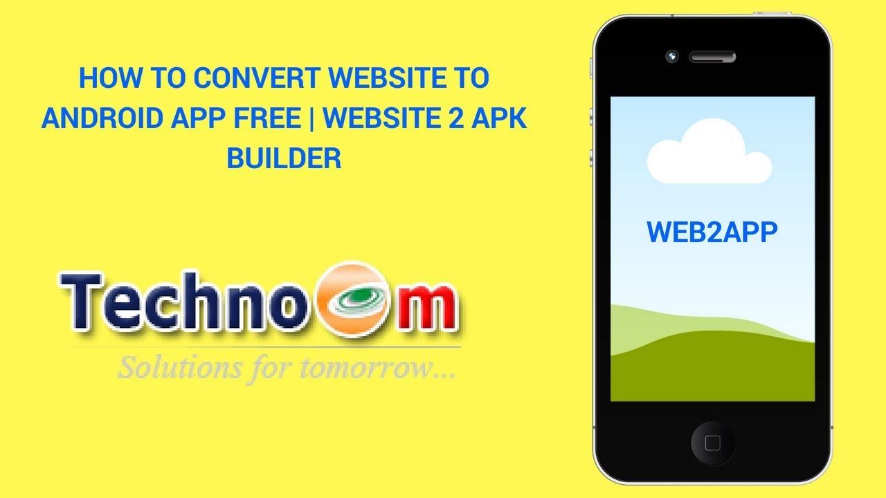 How to Convert Website to Android App Free   Website 2 Apk Builder