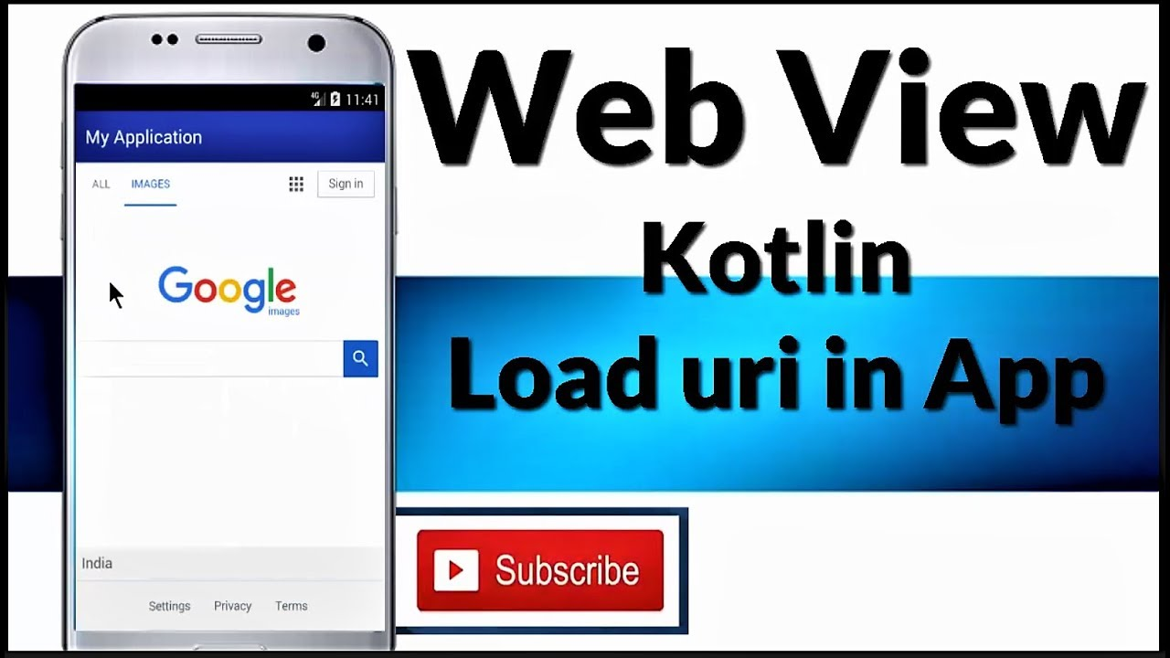 [ KOTLIN ] WEBVIEW  || in Android Studio Tutorial for beginners ||  Convert website into App