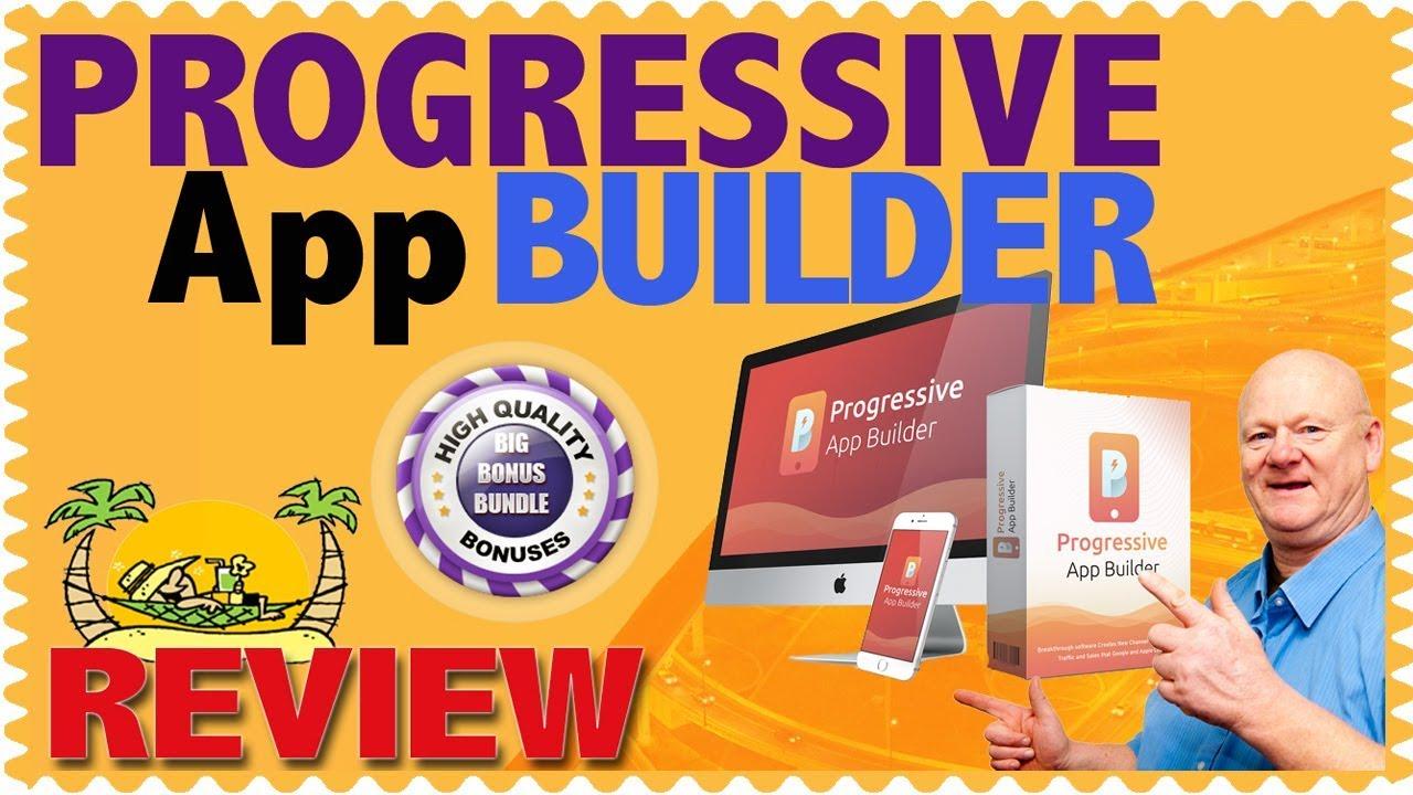 Progressive App Builder Review [How To Convert Website into a Mobile App]
