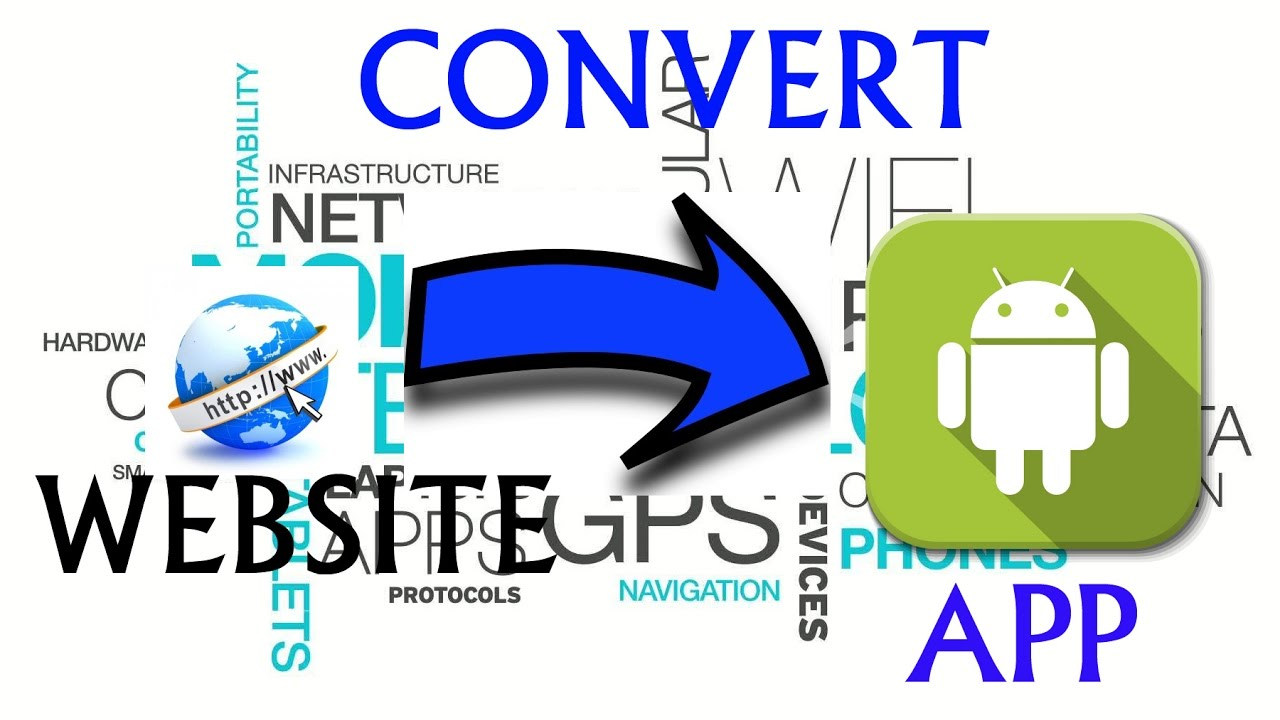 How to Convert a Website into Android Application easily (WebView App)