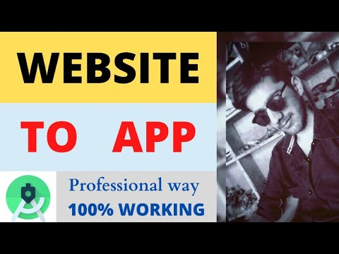 Convert  Website To Android Mobile Application Using Android Studio