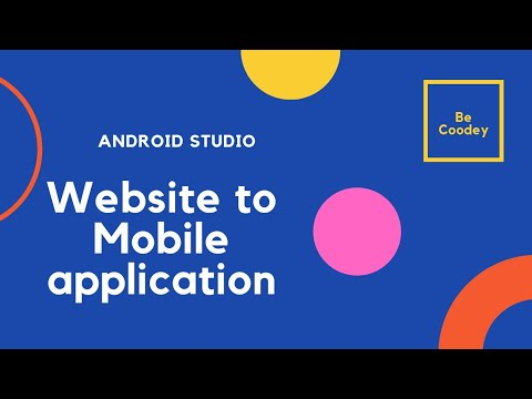 How to make website to Mobile application