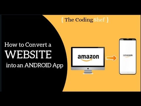 How to convert a website into an Android App using java| hindi|