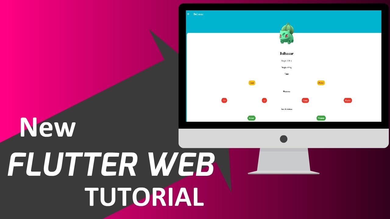 Flutter For Web: Getting Started | Migrating PokemonApp to Web