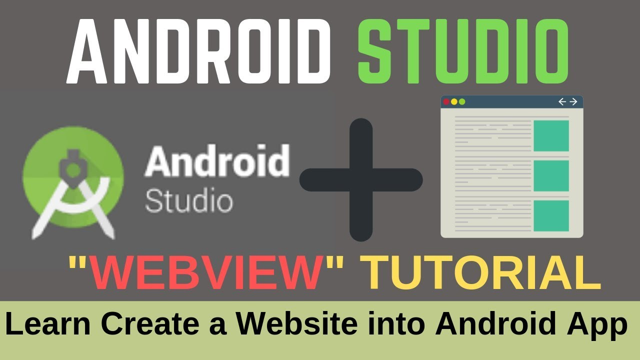How to Convert a Website into Android App using Android Studio? For Full Training Sign Up Here