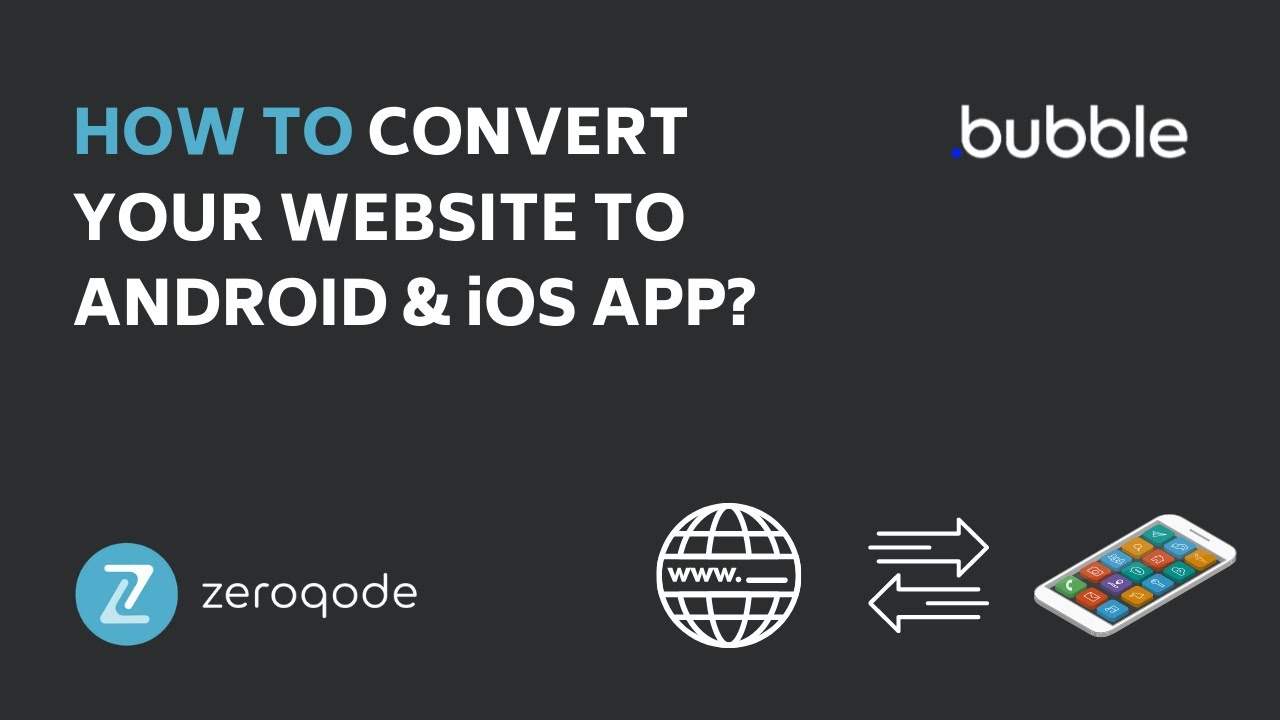 How to convert website to ANDROID & iOS APP? | Zeroqode Nativizer