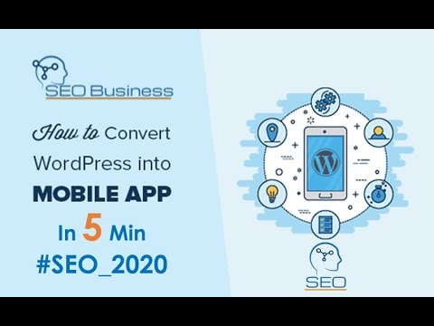How Easly Convert a WordPress Website to a Mobile App in 10 Minutes with WordApp for Free 2020