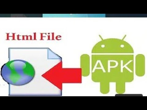 Convert html file to apk    how to develop Android app    easy trick by Tech 4 You