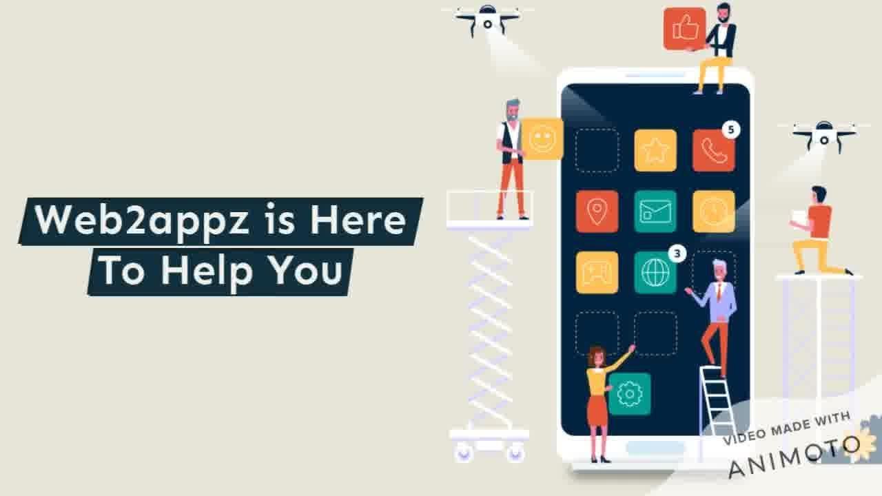 Create App From Website |Web2appz|Convert Web To App