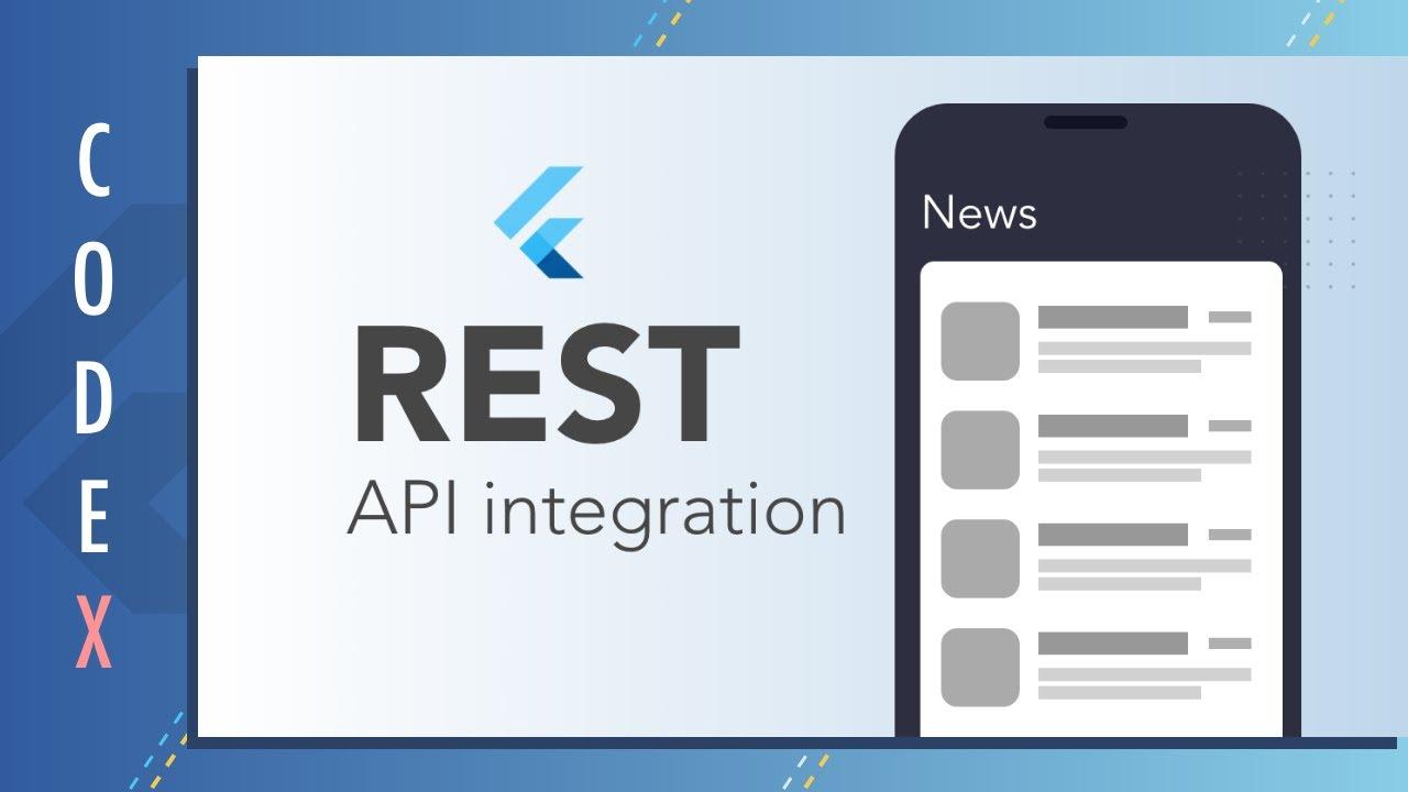 REST API integration with Flutter | HttpClient || News App