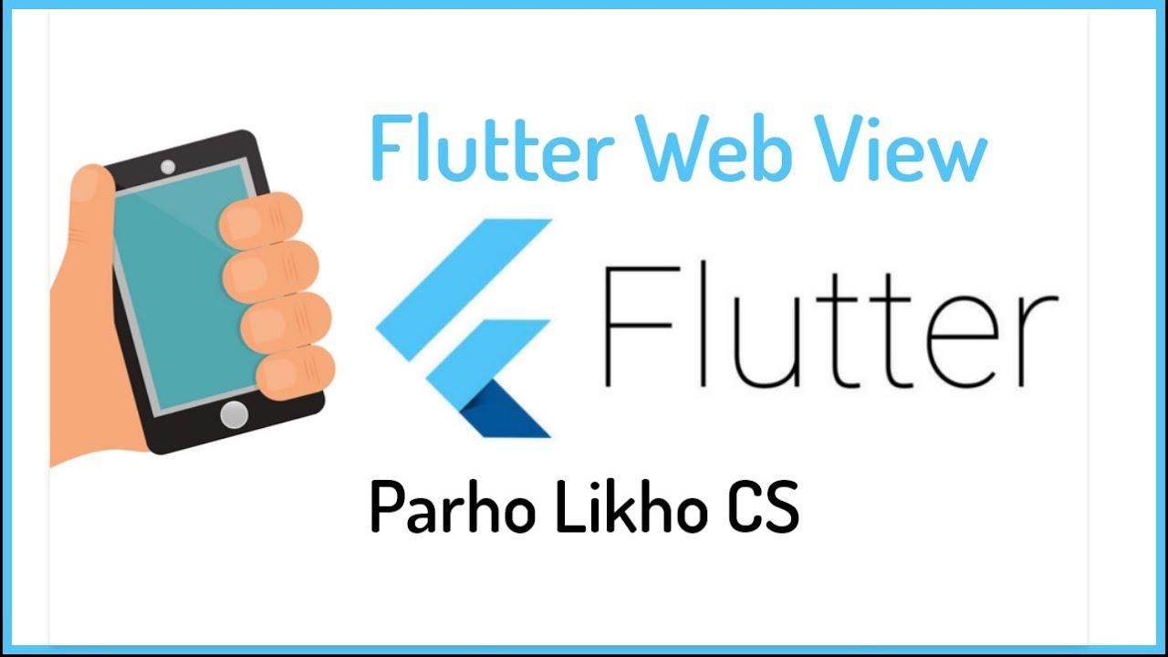 Flutter Web View Tutorial | Flutter Dart Tutorials