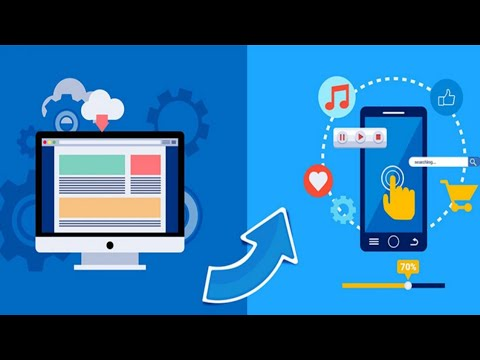 Convert blogger website into Android/iOS application