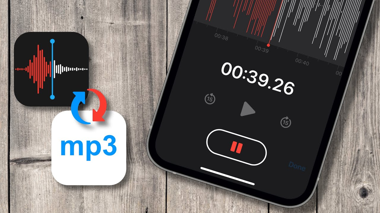 How To Convert Voice Memos To MP3 Online on iPhone All iOS