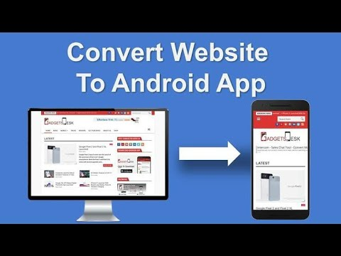 Convert any website into android application with Android Studio   website to apk   how to convert .