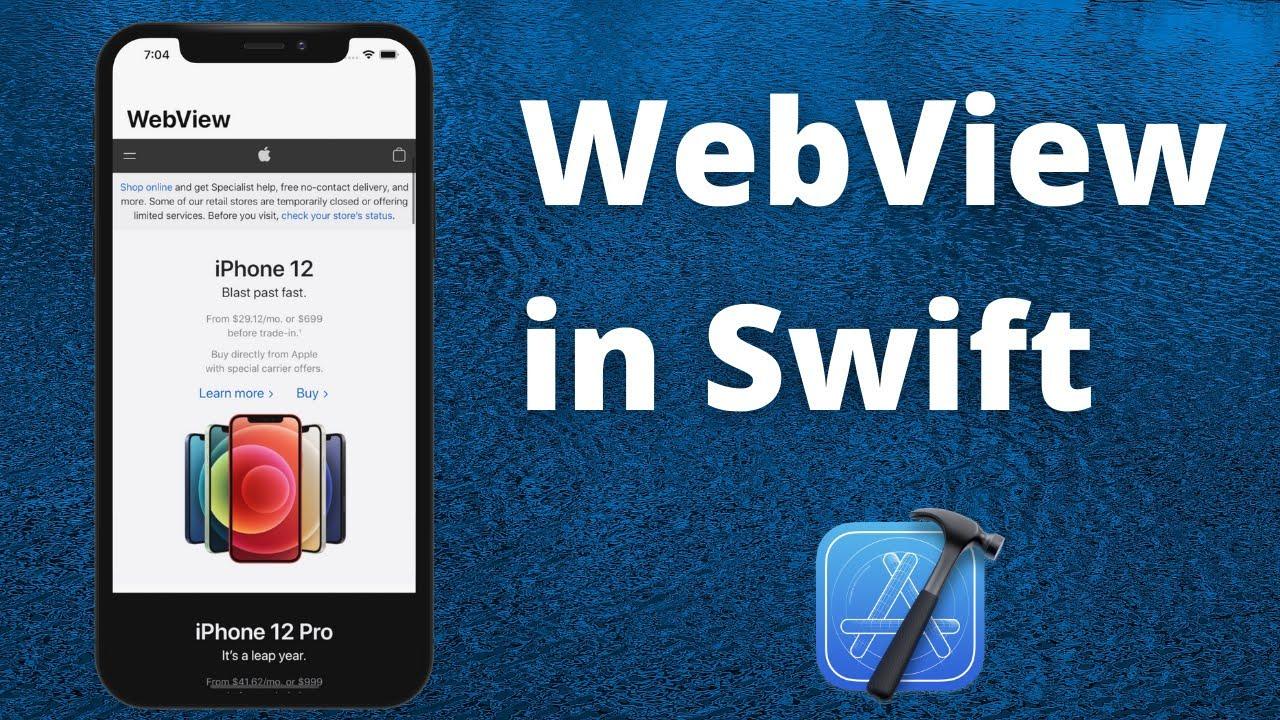 Create WebView in App (Swift 5, Xcode 12, 2021) – iOS Development