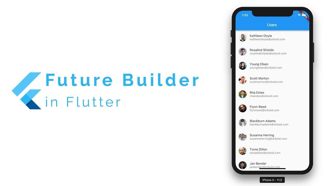FutureBuilder In Flutter – Building Lists with JSON Data