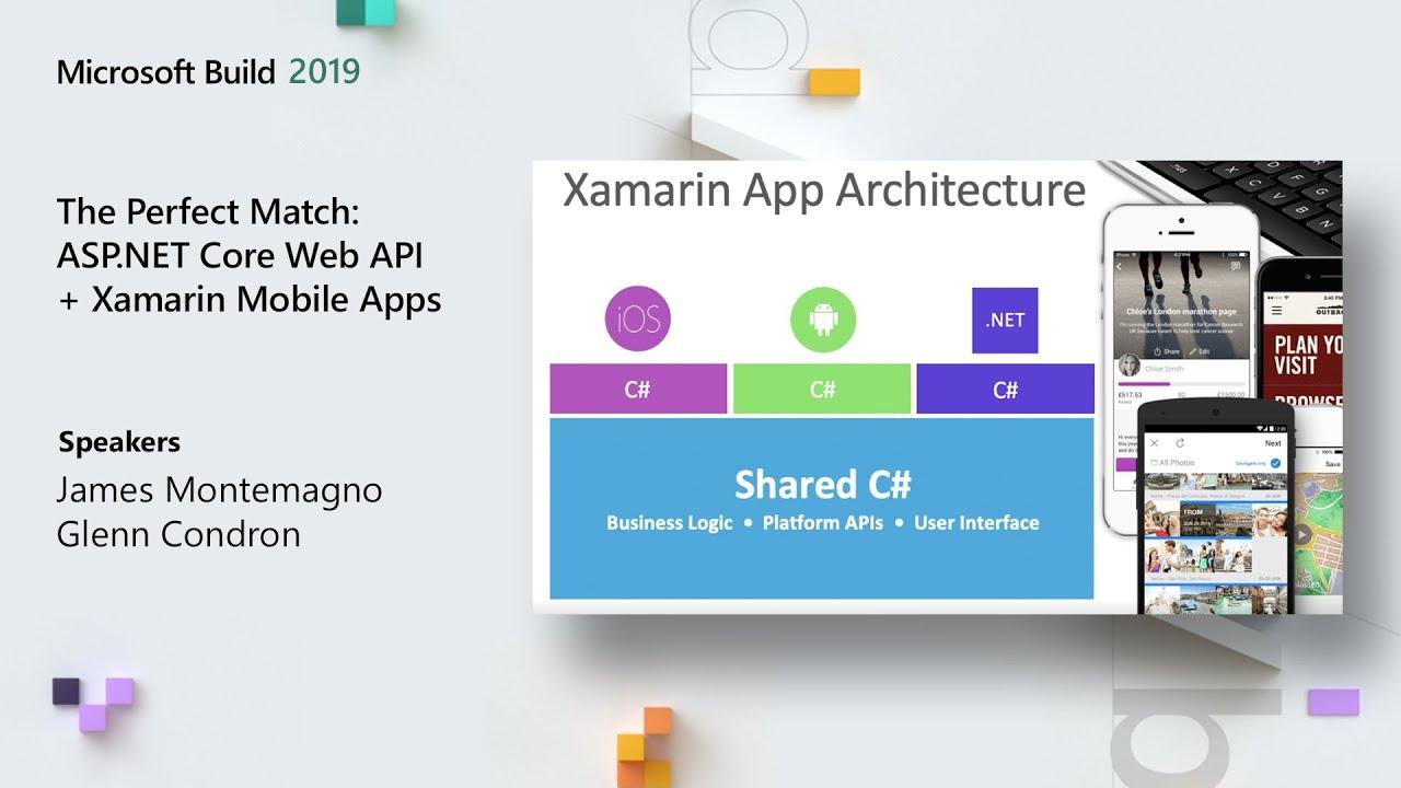 The Perfect Match: ASP.NET Core Web API + Xamarin Mobile Apps – THR3010