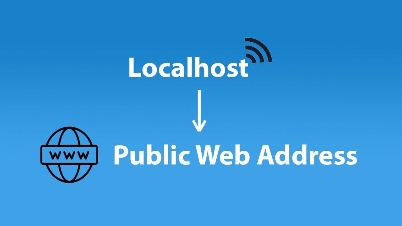 Convert localhost into Public Web Address – Ngrok