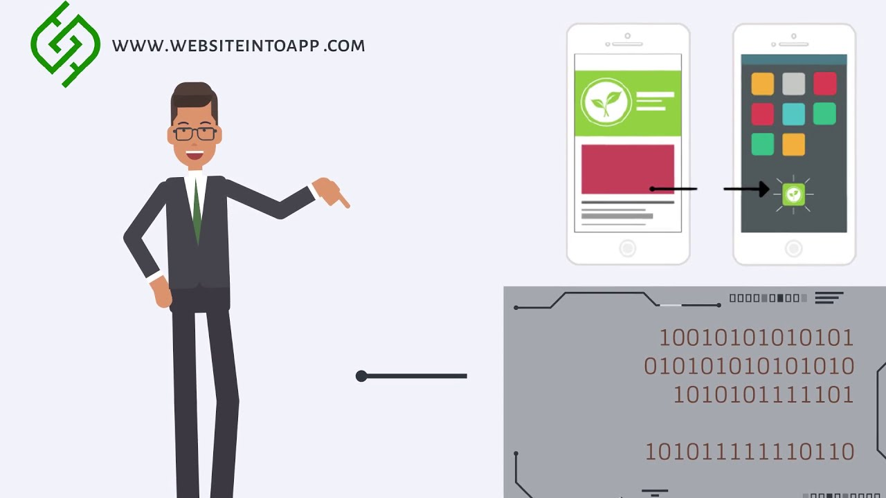 How to Convert Website into App (IOS-Android)