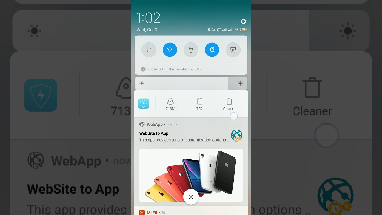 WEBAPP – Website to app with Admob and Push Notification Panel