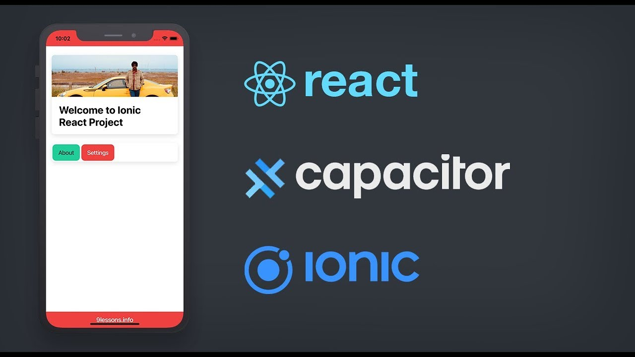 Ionic React with Capacitor – Building Mobile Applications