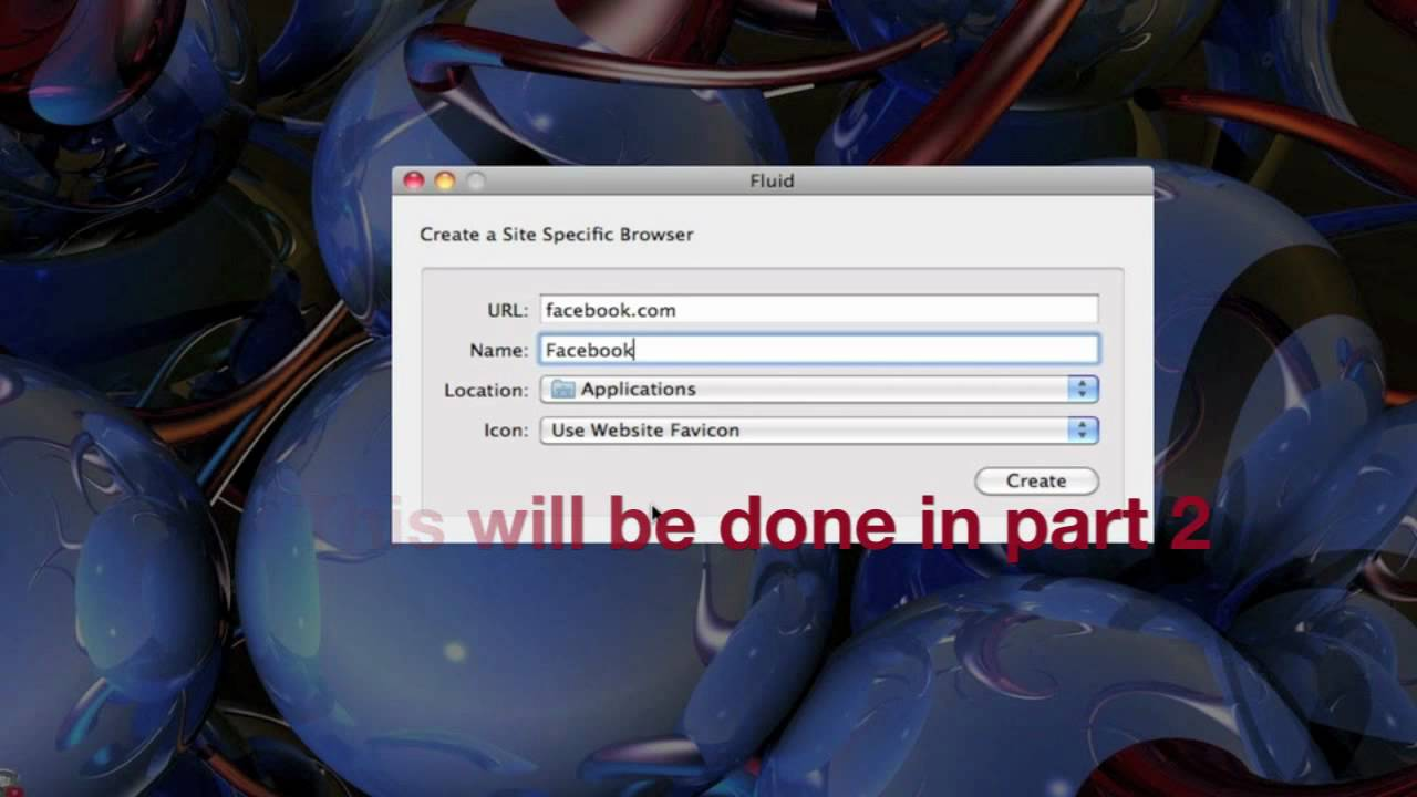 How to use Fluid.app for Mac