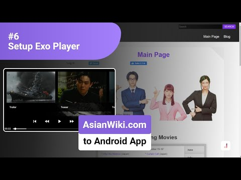 #6 Setup Exo Player – Convert Website (AsianWiki.com) into Android Application
