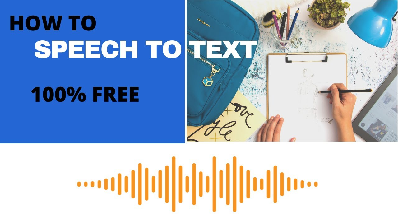 How to Convert Speech to Text in Windows 10 | Fiverr Gig Ideas